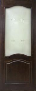Дверь Модель №7 ДО ТЕМНЫЙ ЛАК молодечно воложин сморгонь купить